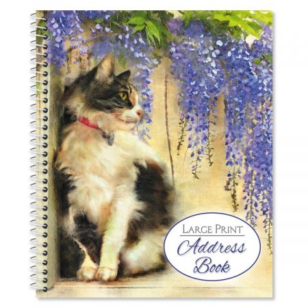 Dianne's Cats Large Print Address Book