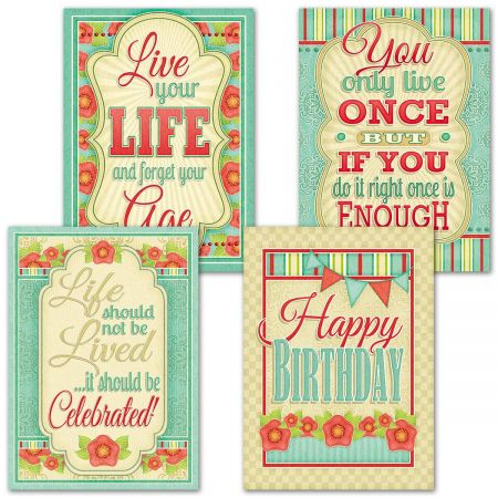 Joyful Celebrations Birthday Cards