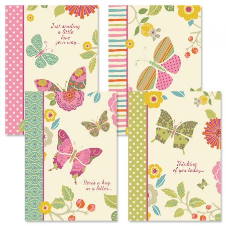 Butterfly Cheer Thinking of You Cards