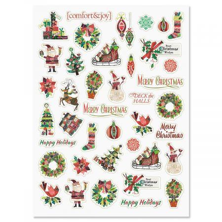 Fancy & Festive Stickers - BOGO