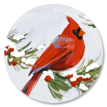 Painted Cardinal Seals