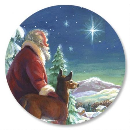Santa and Star Seals