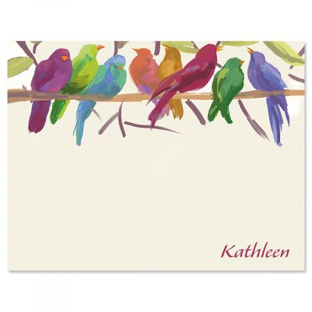 Flocked Together Correspondence Cards