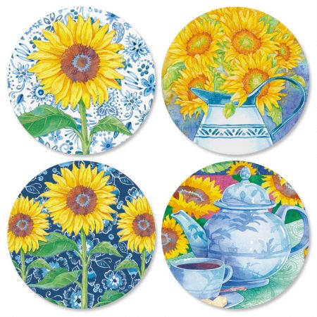 Sunflower Seals