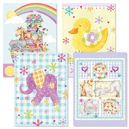Pastel Baby Cards and Seals