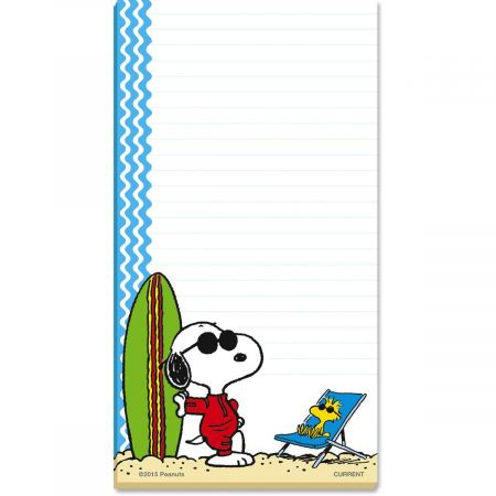 Snoopy's™ Summertime Fun Lined Magnetic Notepads