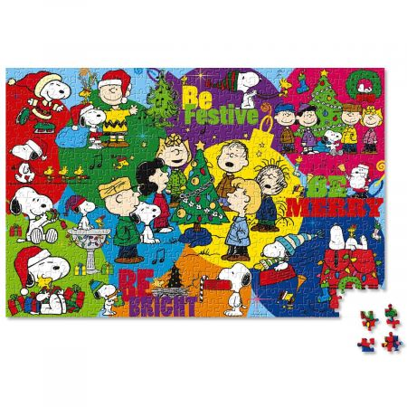 peanuts a very snoopy christmas puzzle