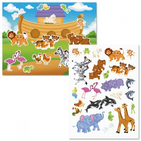 Noah's Ark Background Scenes & Stickers