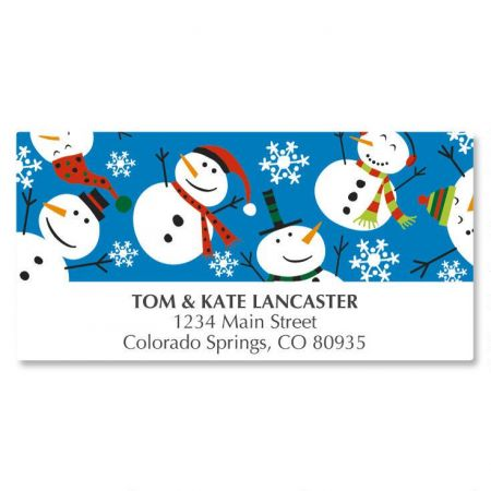 Holiday Time Deluxe Address Labels