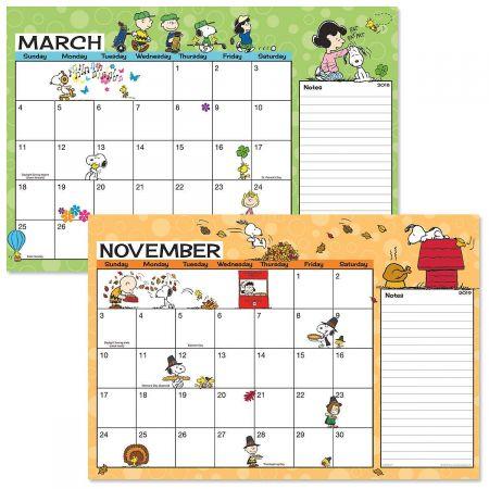 PEANUTS® 2018-2019 Calendar Pad