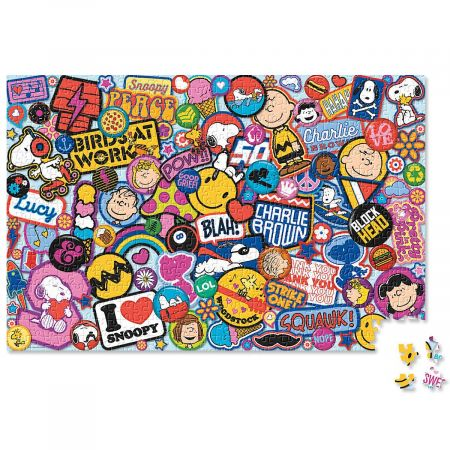 Peanuts Snoopy Patches Puzzle Current Catalog