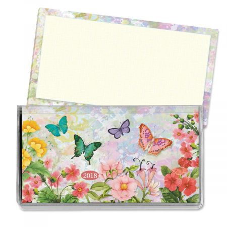 2018 Watercolor Garden Pocket Calendar