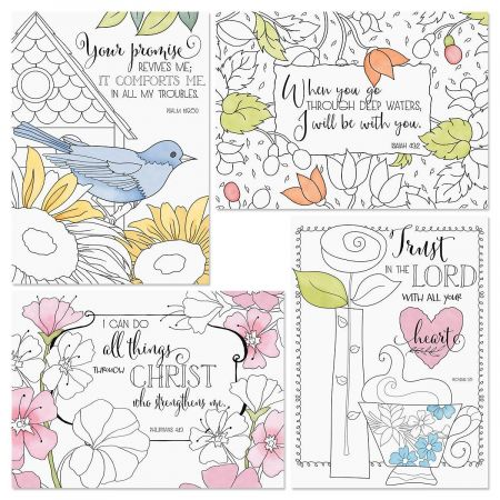 The Best Things Thinking of You Faith Cards and Seals