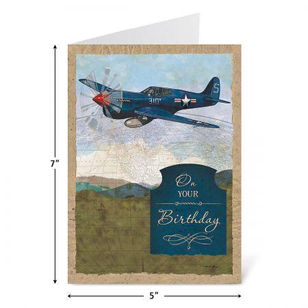 Vintage Travel Birthday Cards Value Pack