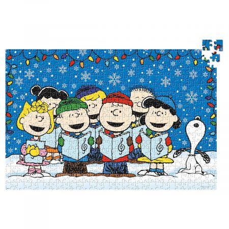 Christmas Snoopy.Peanuts Gang Christmas Puzzle