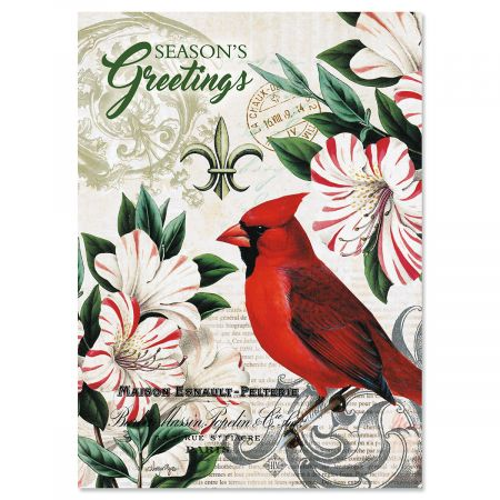 Christmas in Paris Nonpersonalized Christmas Cards - Set of 18