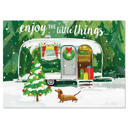 Christmas Getaway Christmas Cards - Personalized