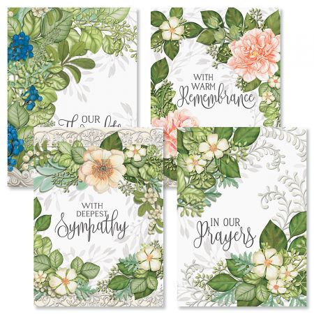 Warm Remembrance Sympathy Cards