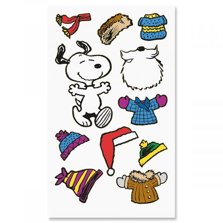 PEANUTS® Holiday Stickers - BOGO