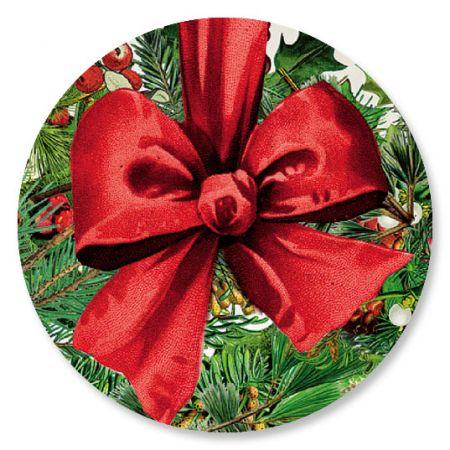 Wreath Collage Seals