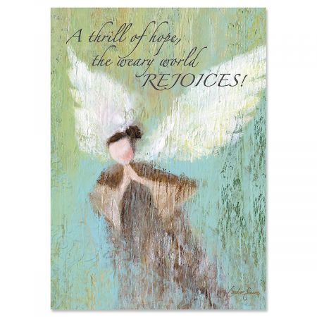 Angel Christmas Cards - Personalized