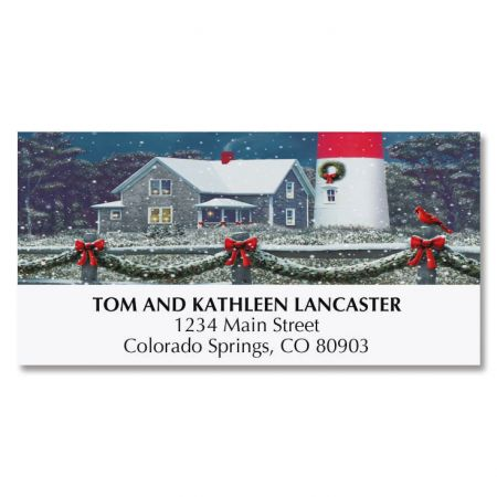 Nauset Lighthouse Deluxe Address Labels