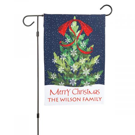 Christmas Tree Garden Flag