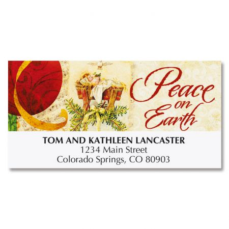 Joy of the Season Deluxe Address Labels