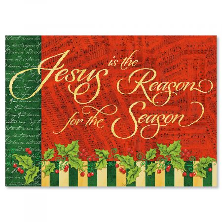 Jesus is the Reason Religious Christmas Cards