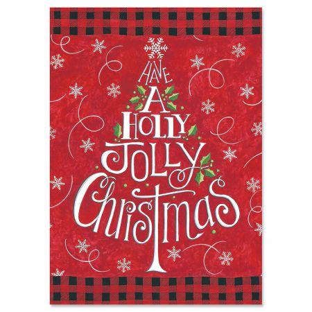 Holly Jolly Christmas Cards