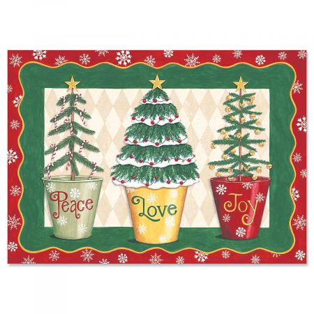 Love and Joy Christmas Cards