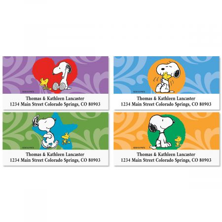 PEANUTS® With Love Deluxe Address Labels (4 Designs)