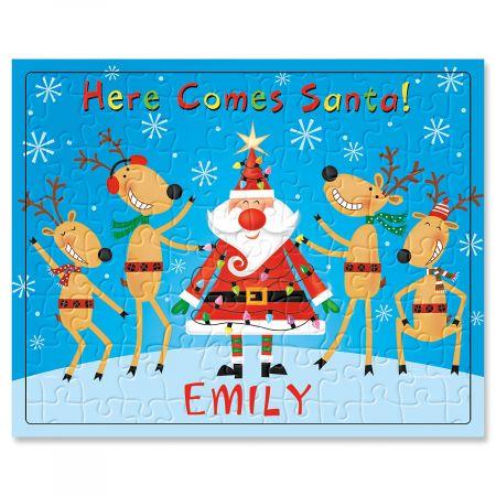 Personalized Santa Puzzle