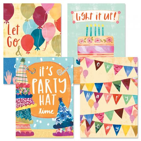 Celebrate Collection Birthday Cards and Seals