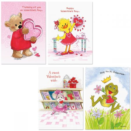 suzys zoo valentines day greeting cards /& envelope