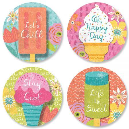 Let's Chill Seals (4 Designs)