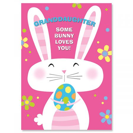 Granddaughter Easter Card