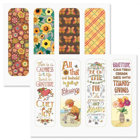 Mary Engelbreit® Gratitude Bookmarks