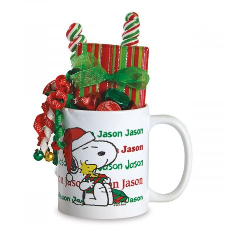 PEANUTS® Snoopy Personalized Christmas Mug