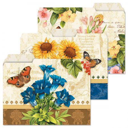 Grande Fleur File Folders
