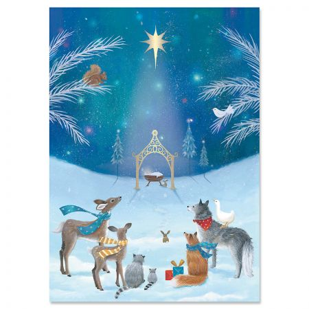 God's Gift Religious Christmas Cards