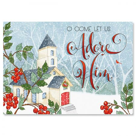 Country Pleasures Religious Christmas Cards