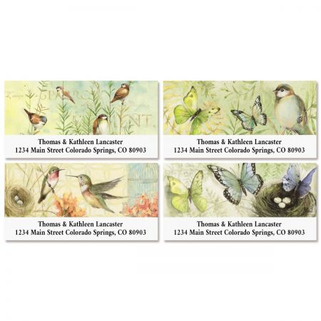 Meadow Deluxe Address Labels