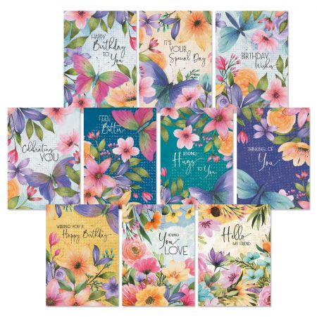 Dream Garden All Occasion Greeting Cards Value Pack