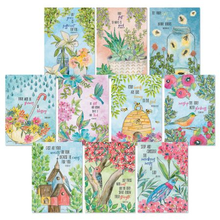 Multiple Blessing Thinking of You Greeting Cards Value Pack