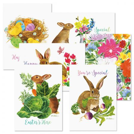 Easter Sketchbook Greeting Cards Value Pack