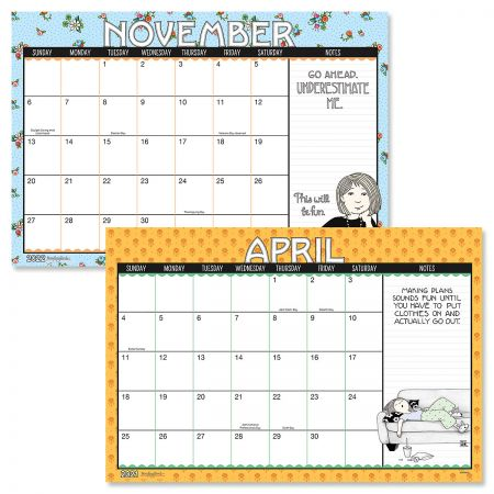 2021-2022 Mary Engelbreit Calendar Pad
