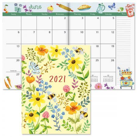 2021 Whimsey Borders Desk Calendar