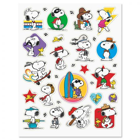 PEANUTS® All American Stickers