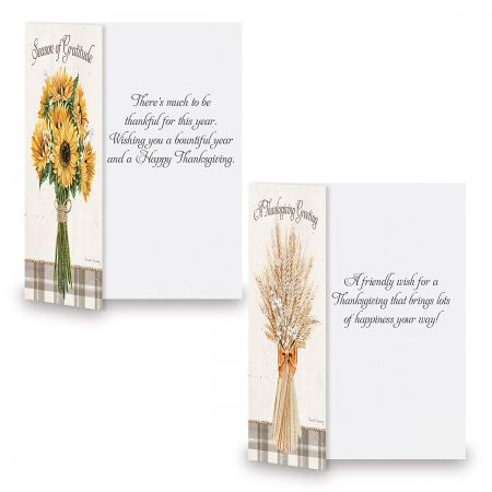 Harvest Notes Thanksgiving Cards